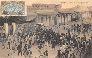 Djibouti Danse de Guerre (Somalis) Traditional Dance 1913