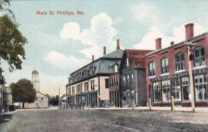 PHILLIPS, Maine, 1900-1910s; Main Street