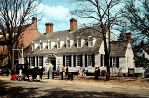 Virginia Williamsburg The Raleigh Tavern
