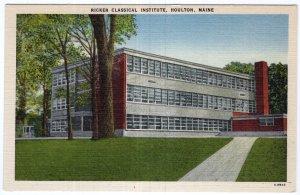Houlton, Maine, Ricker Classical Institute