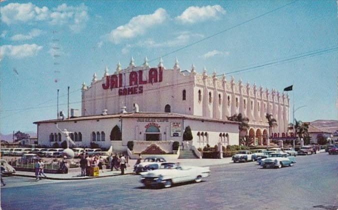Mexico Tijuana Jai Alai Fronton Palace 1959