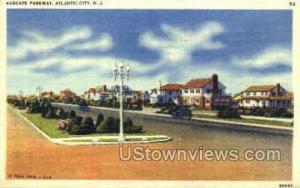 Margate Parkway Atlantic City NJ 1939
