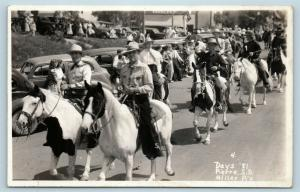 Postcard SD Pierre Day's of 81 Rodeo c1940s Horse Riders RPPC Real Photo #2 S17