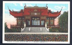 Japanese Tea House Belmont Estate Newport RI unused c1915