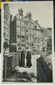 Netherlands Amsterdam C Begijnenhof RPPC - unposted