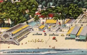 Florida Palm Beach Sun and Surf Club 1965