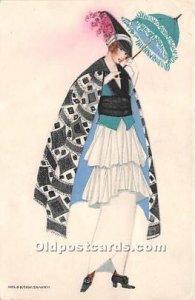 Artist Signed Mela Koehler Post Card Artist Signed Mela Koehler Postal use un...