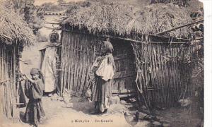 Algeria Kabylie In Gourbj Village Scene