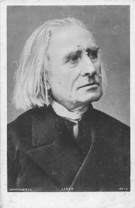 Franz Liszt, Composer, Musician, Rotary Postcard