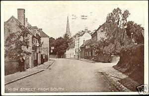 warwickshire, COLESHILL, High Street from South (1917)