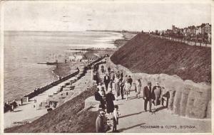 Promenade & Cliffs, Bispham, Lancashire, England, UK, PU-1939