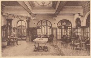 Hotel D'Harscamp Jardin d'Hiver Belgium Antique Postcard