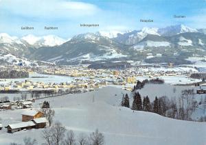 Sonthofen Suedl Stadt am Alpenrand Gesamtansicht Rotspitze Daumen Rauhhorn