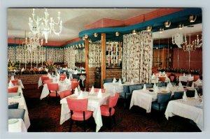 Montreal, Dunn's Famous Steak House, Advertising, Chrome Postcard