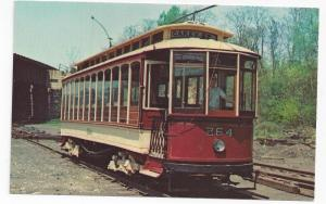 Streetcar Trolley Postcard Baltimore Convertible Car 264