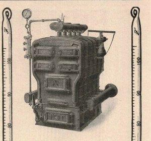 1907 Original Print Ad Klymax Boilers Alvin Orange Blossom Design 2P1-6