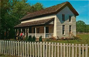 Great Smoky Mtns. Nat'l Park, NC, TN, Becky Gable House, Postcard c3648