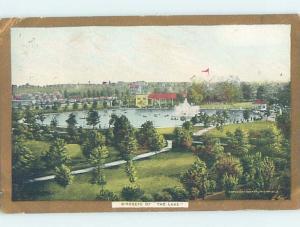 Divided-Back LAKE AT WILLOW GROVE PARK Philadelphia Pennsylvania PA H3658