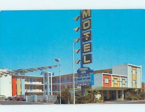 Unused Pre-1980 TRAVEL INN MOTEL Las Vegas Nevada NV B5812