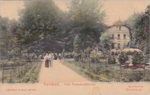 Germany Karlsbad Cafe Freundschaftssaal 1908
