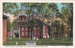 Virginia Alexandria Christ Church Curteich