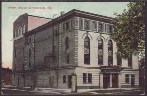 Opera House,Sheboygan,WI Postcard