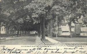 Prospect Ave. Mt Vernon NY Writing On Back