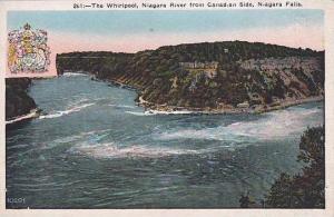 New York Niagara Falls The Whiripool Niagara River From Canadian Side