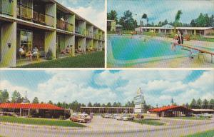 Howard Johnson's Motor Lodge Restaurant and Swimming Pool Folkston Georgia