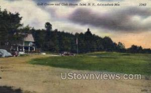 Golf Course & Club House Inlet NY Unused