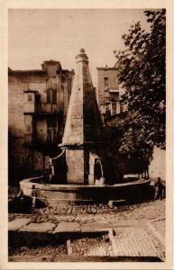CPA CORSE Corte- La vieille fontaine. (711521)