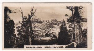 Cigarette Card Westminster : Indian Empire (First Series) No. 41 Darjeeling