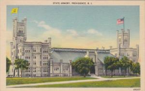 Rhode Island Providence The State Armory Curteich