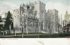GUELPH , Ontario , 1901-07 ; Court House #2
