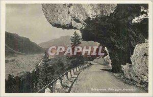 Postcard Modern Brunigstrusse Blick gegen Brienzersee