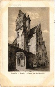 CPA Calvados-BAYEUX Maison rue Bourbonneur (422144)