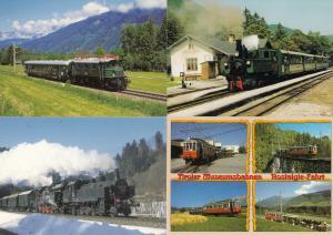 Tirol Austria Railway Trams Trains 8x Postcard s Bundle