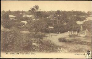 french guinea guiné, CONAKRY, Vu du Chateau d'Eau 10s