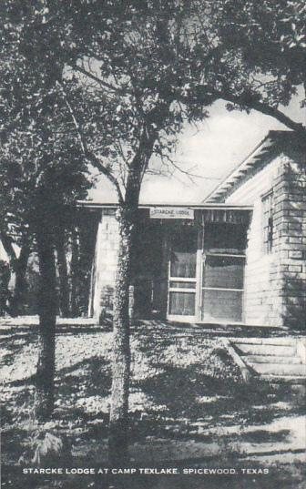 Starcke Lodge at Camp Texlake Spicwood Texas Artvue