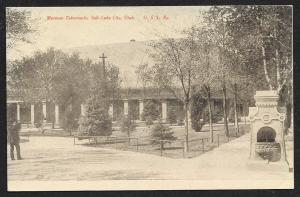 Mormon Tabernacle Salt Lake City Utah Unused c1910s