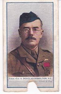 Cigarette Cards Gallaher Great War VC Heroes 4th series No 95 A Douglas-Hamilton