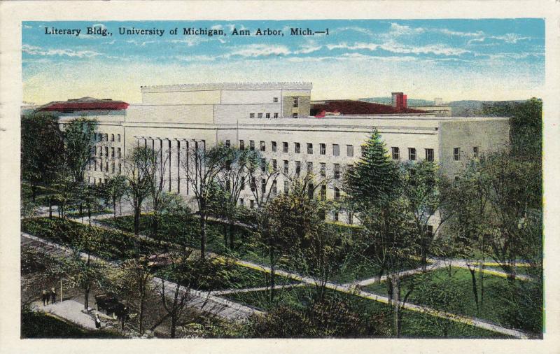 Literary Bldg,University of Michigan,Ann Arbor,Michigan,PU-00-10s