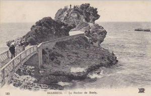 France Biarritz Le Rocher de Basta 1921