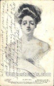 Artist Signed Howard Chandler Christy, A City Girl 1908