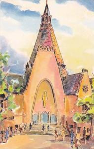 La Basilique, Sanctuaire National De Notre-Dame Du Cap, Quebec, Canada, 40-60s