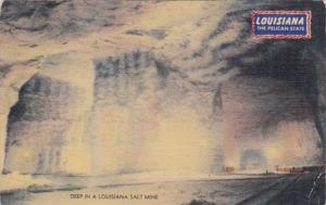 Louisiana Deep In A Louisiana Salt Mine