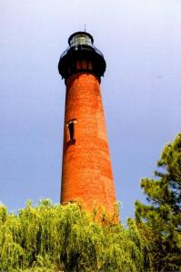 North Carolina Outer Banks Currituck Beach Lighthouse