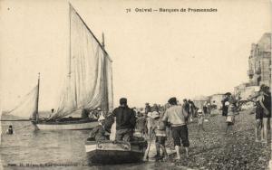 CPA ONIVAL - Barques de Promenades (121391)