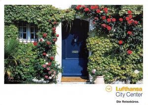 Lufthansa City Center Die Reiseburos, Herzlich willkommen zu Hause Door House