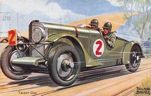 Talbot Car by Roland Davies Auto Race Car, Racing 1932